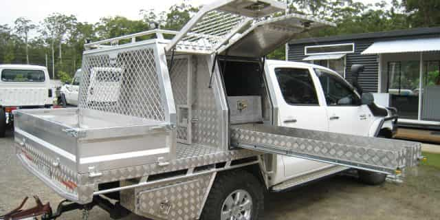 Need a ute tray with all the extras? We can customise options to your needs.
