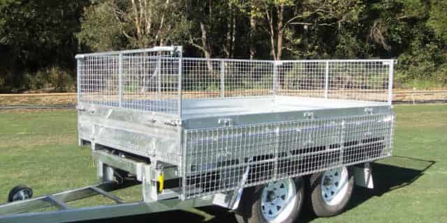 Buffalo also build heavy duty custom welded trailers.