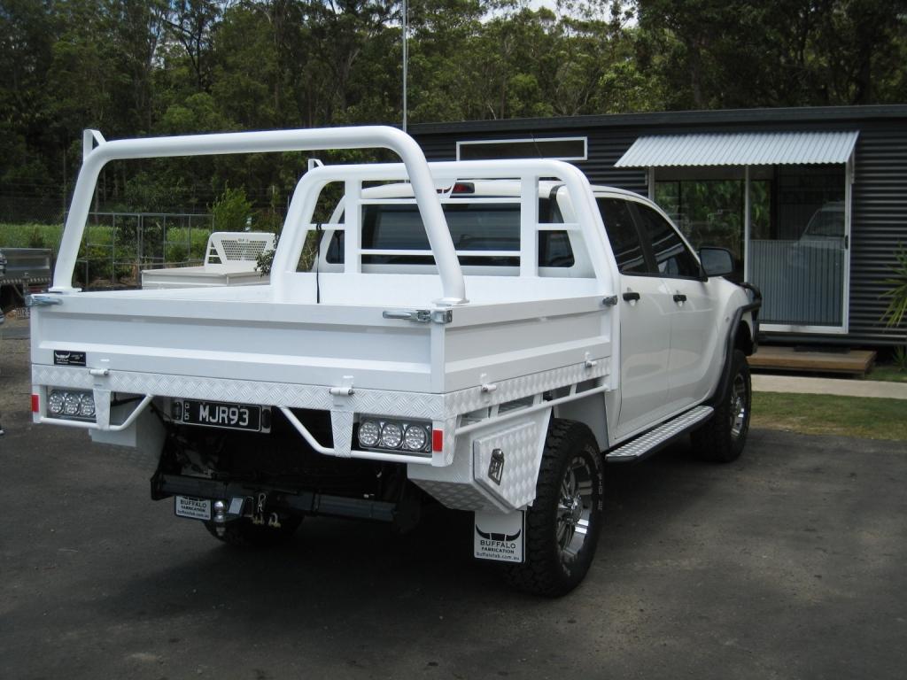 Custom Alloy Ute Trays Heavy Duty Aluminium Ute Trays