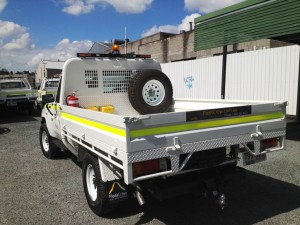Steel Tray Fleet Vehicle ROPS Certified