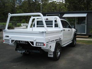 Welded Aluminium Ute Tray