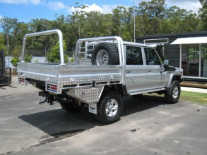 Welded Alloy Ute Tray