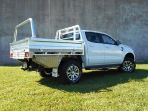 Heavy Duty Aluminium Tray Ford Ranger Dual Cab